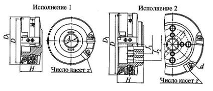 Фрезы торцовые с регулируемыми кассетами