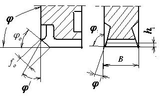 углы дву- и трехсторонних дисковых фрез