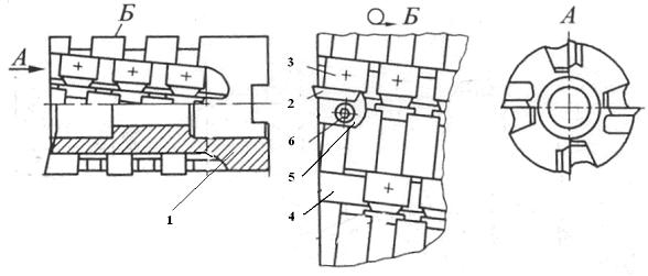 Торцово-цилиндрическая насадная фреза